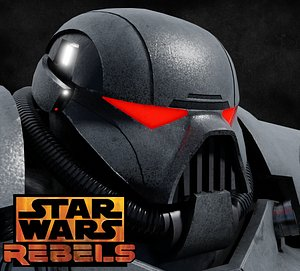 3D model star wars dark