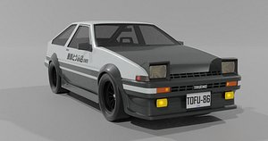 3D model toyota trueno