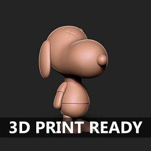 dog 3D model
