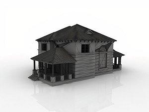 large luxury mansion model