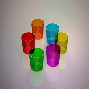 3D glass set