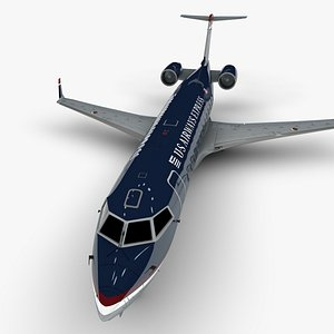 3D airways express bombardier crj