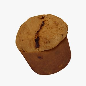 Panettone - Extreme Definition 3D Scanned model