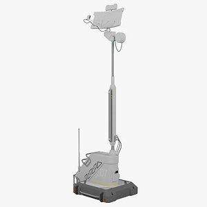 antenna unit 3D model