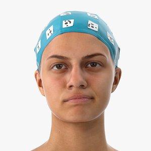 Penelope Human Head Contempt Clean Scan 3D