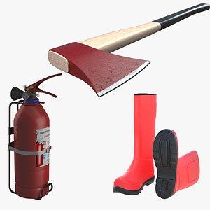 3D Fire Equipment