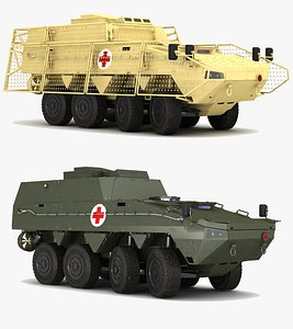 ambulance kto 3D