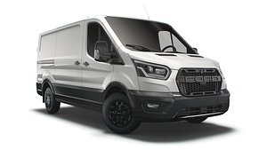 3D model transit van l2h1 trail