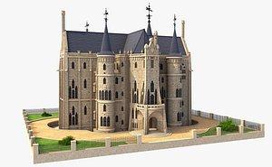 3D episcopal building unity
