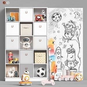 3D Toys and furniture set 98