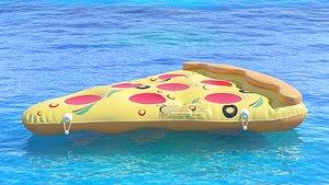 3D model Pizza Pool Float Raft