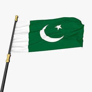 Animated Flag- Transitional Flag model