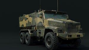 ural 63095 typhoon model