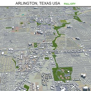 Arlington Texas USA 3D model