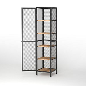 Cage cabinet Mesh-Low Poly model