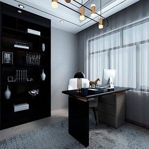 3D home office model