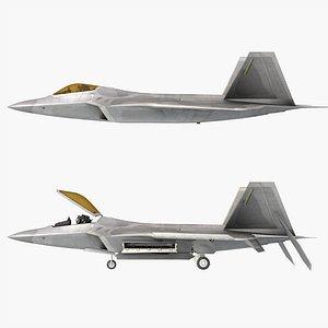 3D aircraft airplane aviation model