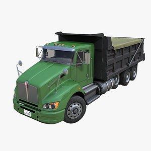 Generic Dump truck PBR 3D model