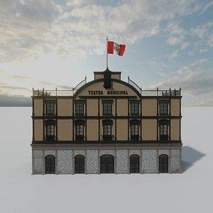 3D teatro tacna municipal