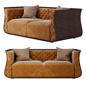 3D Luxury cally sofa 3ds max PBR model