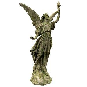 3D Statue of Lady Geo
