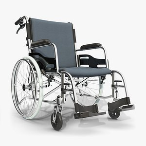 wheelchair manual wheel 3D model