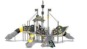 Playground Ship Playset 3D model