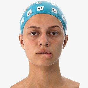 penelope human head lip 3D model