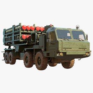 3D s 350e missile model