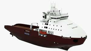Supply Vessel Nordic Wind model