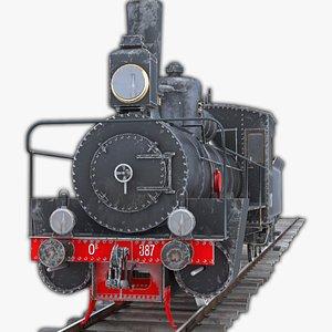 3D model Ov Steam Locomotive