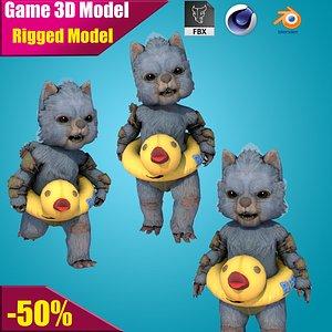 3D Panda model