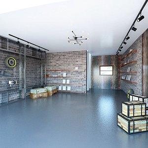 3D Home Garage model