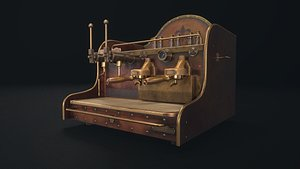 coffee maker 3D