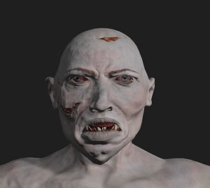 3D zombie obese model