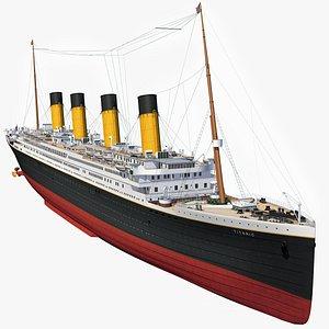 3D RMS Titanic