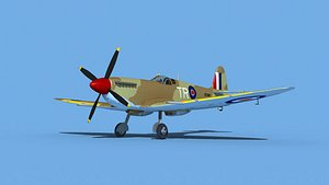 Supermarine Spitfire Mk IXb  V04 model