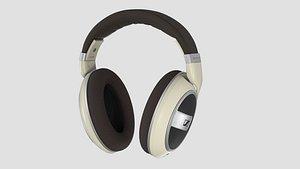 Sennheiser HD 599 Open Back Headphone 3D model