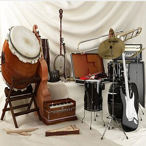 Musical Instruments Collection model