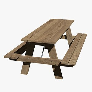 Forest table picnic