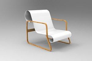 paimio armchair 3D model