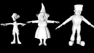 3D villain character