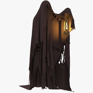 Ghost With Lamp 3D model