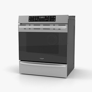 3D model Frigidaire Induction Range Oven