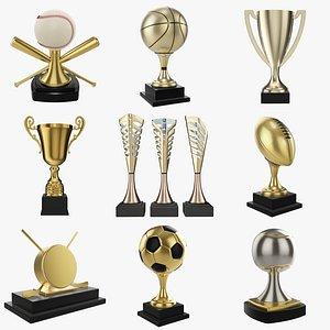 3D Trophy PBR vol. 2