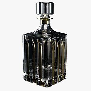 Carafe Crystal Gold Plated model