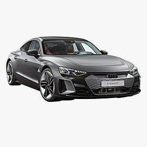 3D 2022 Audi RS e-tron GT