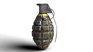 Grenade army MK 2 model