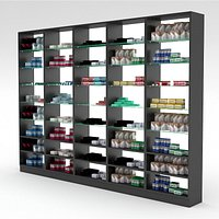 pharmacy decorative medicine cabinet 03