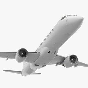 3D regional jet retracted landing gear